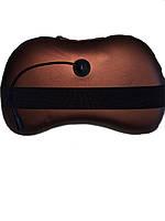 Автомобильная массажная подушка с роликами и инфракрасным прогревом Магия CHM-8018