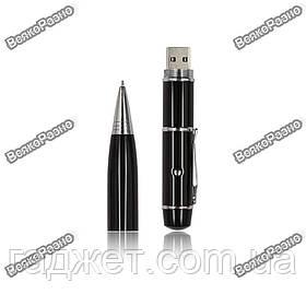 Флешка ручка черного цвета с лазерной указкой на 32 гб.