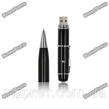 Флешка ручка черного цвета с лазерной указкой на 32 гб., фото 2