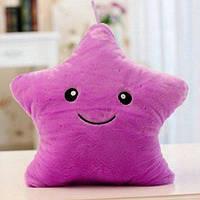 Декоративная подушка для сна Звезда - Фиолетовая