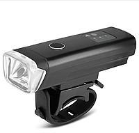 ВЕЛОСИПЕДНАЯ ФАРА  Waterproof Smart Induction Bike Front Handlebar Light (BLACK), фото 1