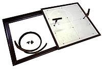 Съёмный лючок в пол под плитку 60х60 см