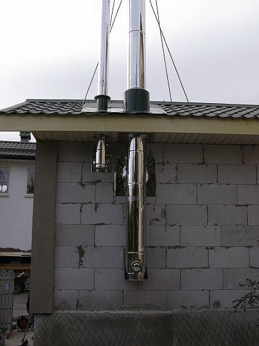 Как сделать в своем доме дымоход дымоход двухконтурный диаметр