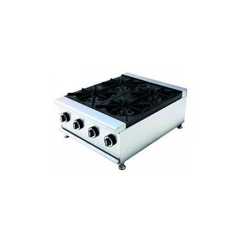 Профессиональная газовая плита Rauder CPG-600-RB4
