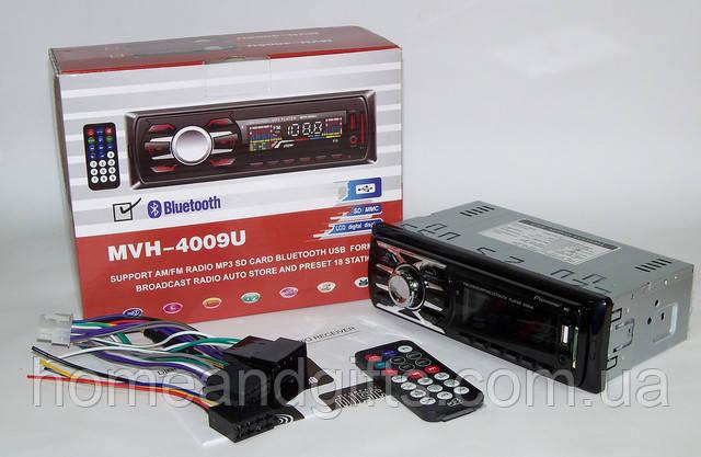 Автомагнитола MVH 4009U ISO USB MP3 FM Bluetooth
