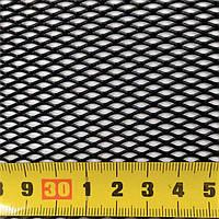 Сетка бампера №1 1м х40 см Elegant EL 511041/1 черная, без упаковки