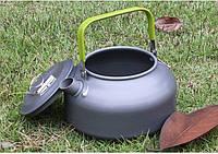 Чайник DS-08 - 0.8л туристический походный для горелки