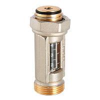 Расходомер коллекторный Valtec (ротаметр) 1-4 л/мин 3/4 евроконус