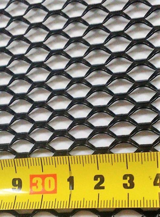Сетка бампера №3 1м х30 см Elegant EL 511033/1 черная, без упаковки