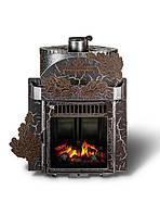 Дровяная паровая печь Ферингер Гармония Экран (Дуб) - Антик -30 м³