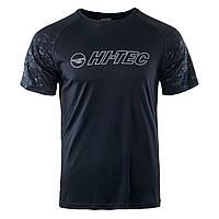 Спортивная мужская футболка Hi-Tec Deran ANTHRACITE