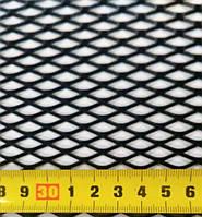 Сетка бампера №4 1м х20 см Elegant EL 511024/1 черная, без упаковки