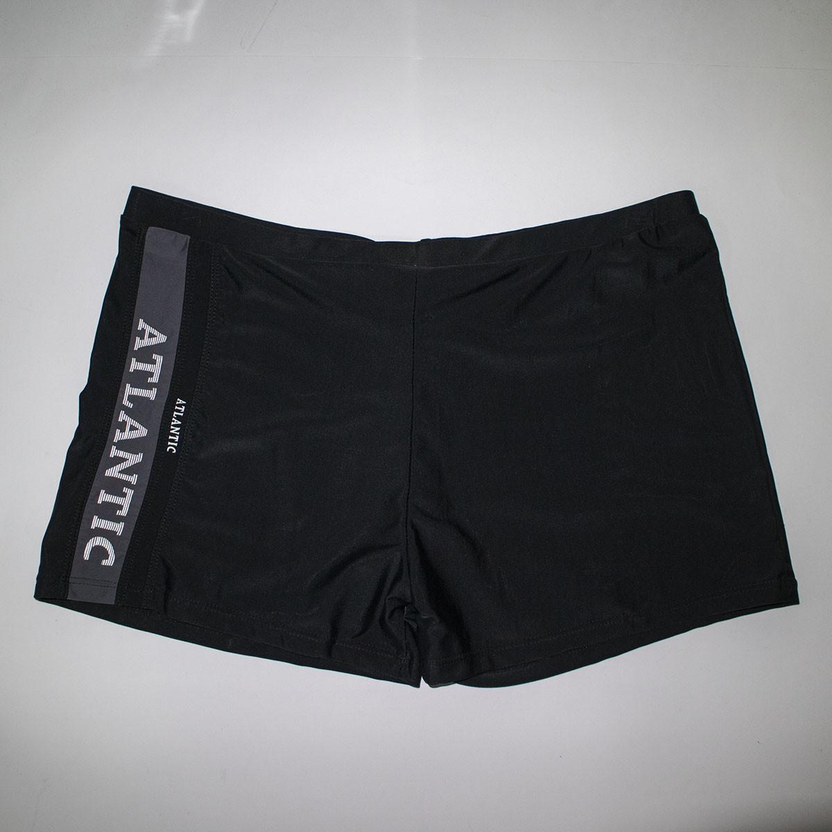 Мужские черные шорты боксеры больших размеров Баталы R208G