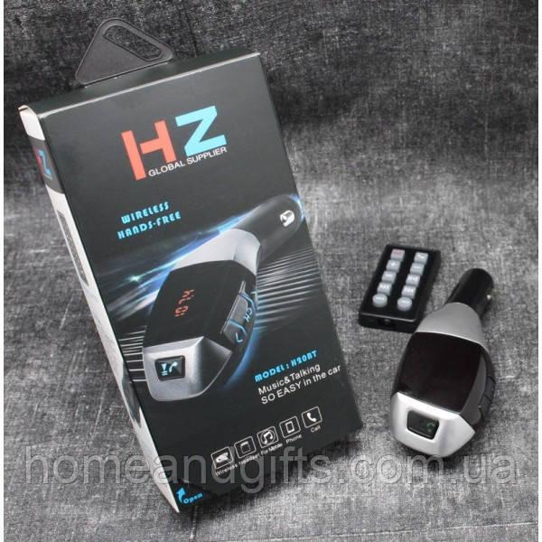 Модулятор трансмиттер FM для автомобиля BLUETOOTH. AUX, USB H20