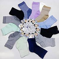 Детские носки хлопок с сеткой BFL, размер 31-33, ассорти, C163