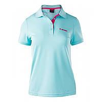 Женская футболка поло Hi-Tec Lady Site AQUA SPLASH/FUCHSIA PURPLE