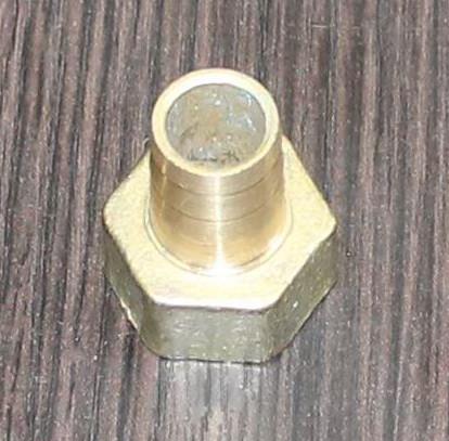 Штуцер латунь 1/2 внутренняя резьба 8мм