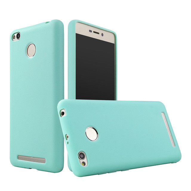 Чехол Style для Xiaomi Redmi 3s / 3 Pro Бампер силиконовый Mint