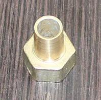 Штуцер латунь 1/2 внутренняя резьба 12мм