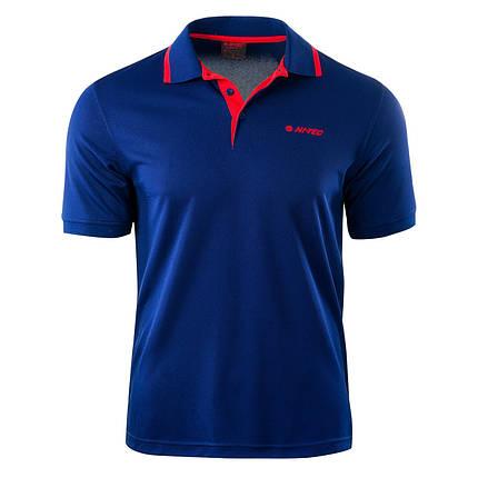 Мужская футболка поло Hi-Tec Site BLUE PRINT, фото 2