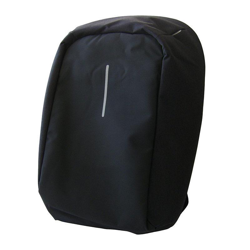 Распродажа! Рюкзак антивор, для ноутбука, с USB зарядкой, Bobby, цвет - чёрный