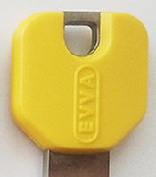 Декоративная накладка на ключ EVVA желтый (Австрия)