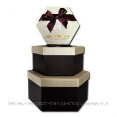 Набор подарочных коробок 36–3 А-1 3 шт.