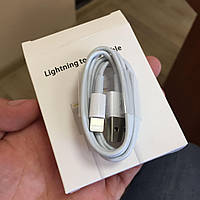USB кабель для Iphone 4S/5/5S/6/6+ , Ipad/Ipad mini, юсб кабель на айфон и айпад белый, фото 1