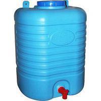 Ёмкость для ниппельного поения обьемом 20 литров с поплавком