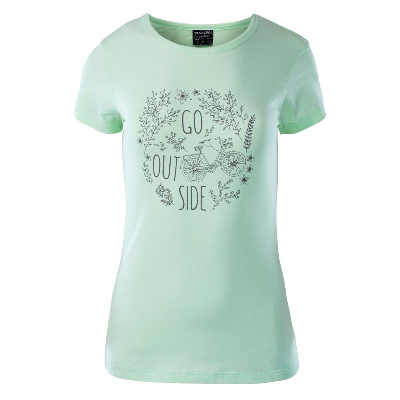 Женская футболка с принтом Hi-Tec Lady Anemone HONEYDEW