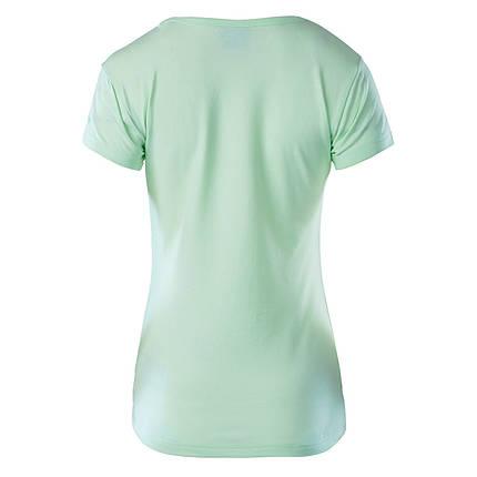 Женская футболка с принтом Hi-Tec Lady Anemone HONEYDEW, фото 2