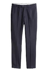 Брюки H&M Twill Suit 34