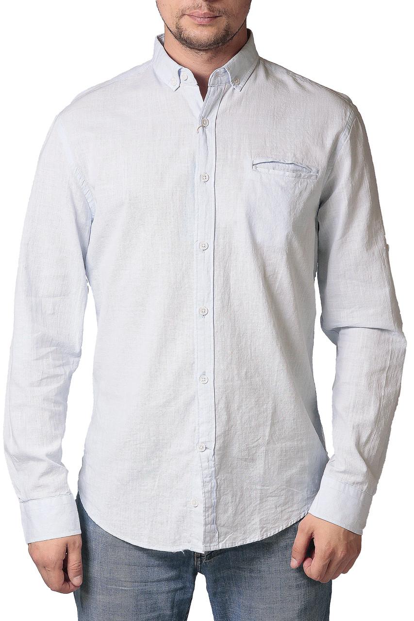 Рубашка мужская льляная Strela