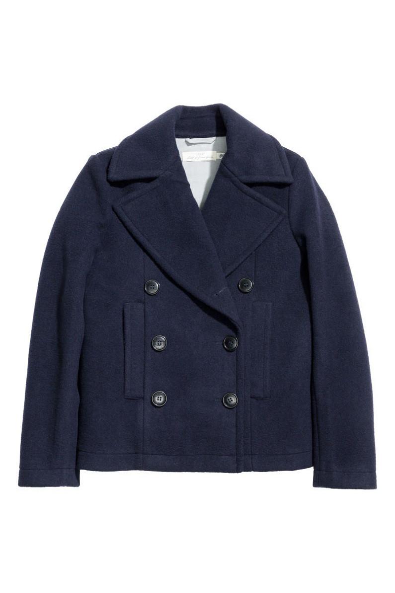 Пальто H&M Skepparkavaj US6