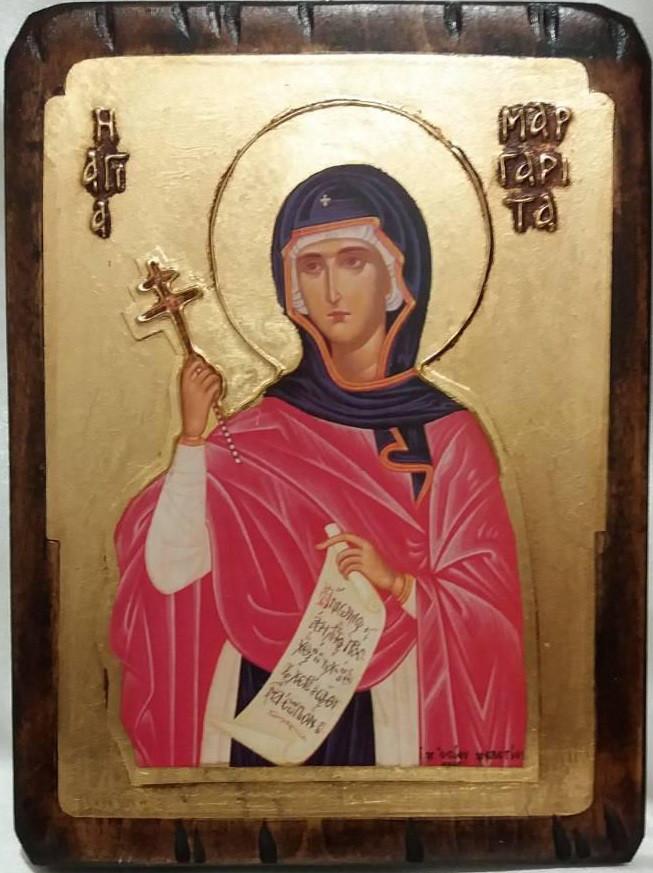 Ікона свята Маргарита