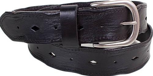 Интересный женский кожаный ремень ETERNO (ЭТЕРНО) E8010-black