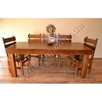 Деревянная мебель для ресторана стол и  стулья из сосны