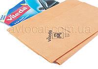 Салфетка Vileda Car Cloth для протирания и впитывания влаги со стеклянных, окрашенных и хромированных, 50*43см