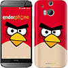 "Чехол на HTC One M8 Angry birds. Red. ""542c-30-532"""