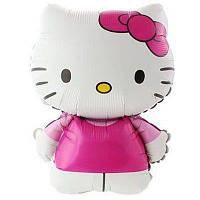 Фольгированные шары большие фигуры   котенок китти / FlexMetal (Kitty) 67х49 см