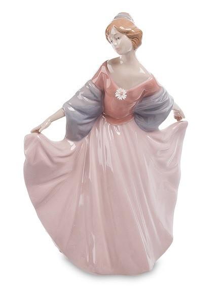 Статуетка порцеляновий Леді 30 см Pavone CMS - 20/22