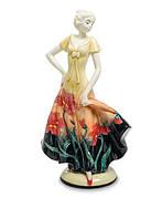 Фарфоровые статуэтки Девушек Pavone