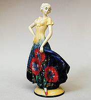 Порцелянова статуетка Дівчина 30 см Pavone JP-102/ 8