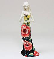 Порцелянова статуетка Дівчина 32 см Pavone JP-183/ 4