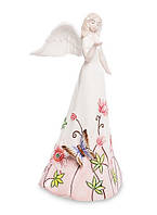 Порцелянова статуетка Дівчина Ангел 18 см Pavone JP-764/ 8