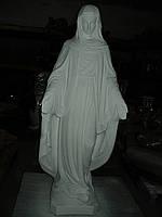 Скульптуры для памятников. Статуя Божьей Матери. Покрова 120 см бетон  белая