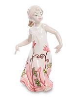 Порцелянова статуетка Дівчинка 15 см Pavone JP-764/16