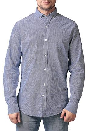 Рубашка мужская льляная PR&CO, фото 2