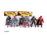 Ид герои 2013-2а 2шт в кульку (спайдермен+бетмен/супермен+зорро)