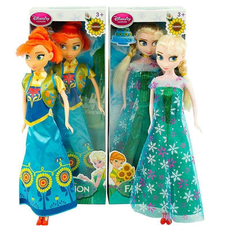 "Лялька ""Frozen Fever"" 365-A 2 види, музична, в коробці"